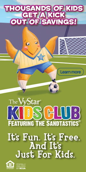 Vystar Credit Union Kids Club - Star