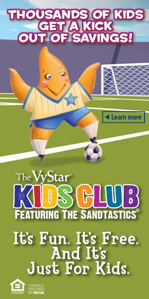 Vystar Credit Union Kids Club