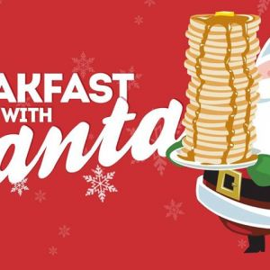 11/30, 12/07, 12/14, 12/21 Pancakes with Santa at Cottom Farm's Christmas Village